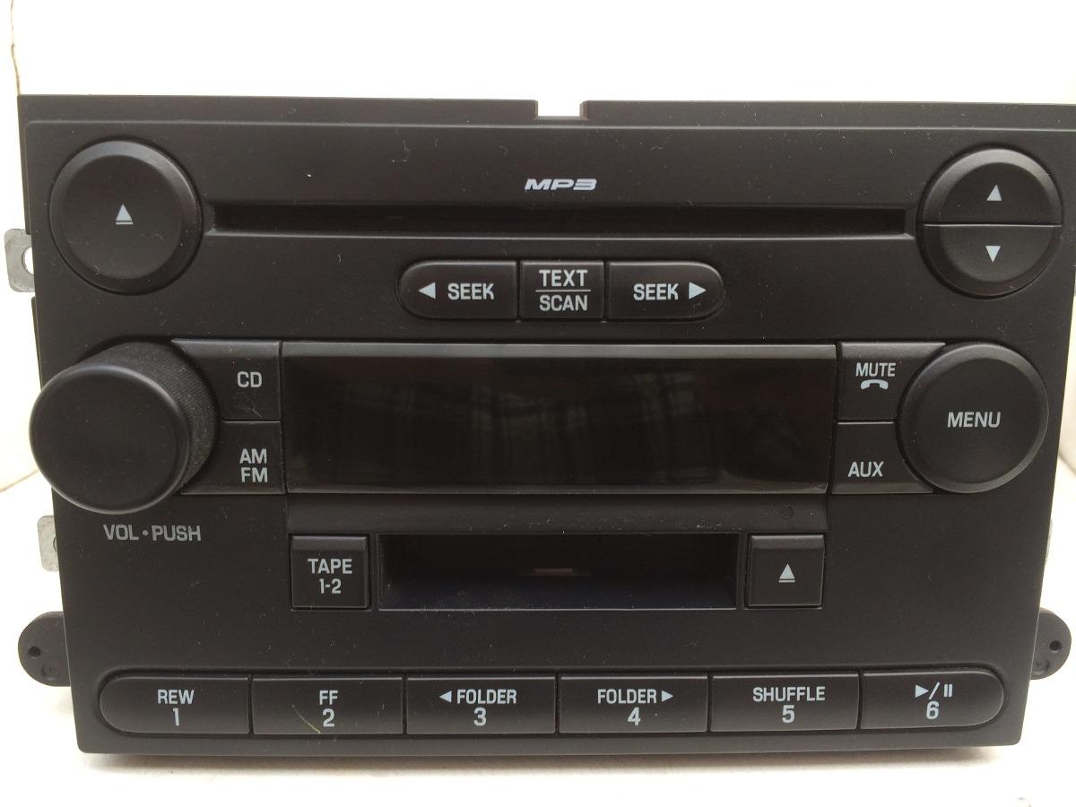Autoestereo Original Ford Lobo Cd Mp3 Cassette Auxiliar