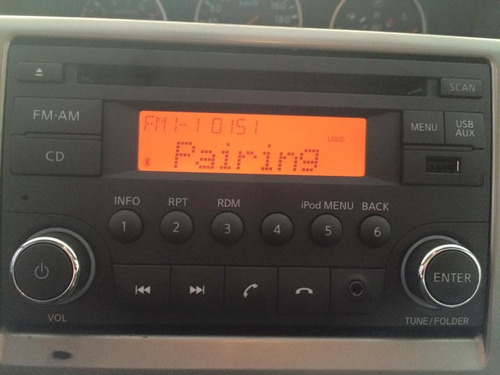 autoestereo original nissan versa march xtrail bluetooth aux