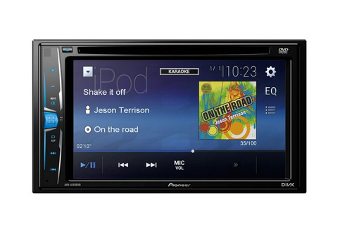 autoestereo pantalla 6.2 pioneer avh-a105dvd android iphone