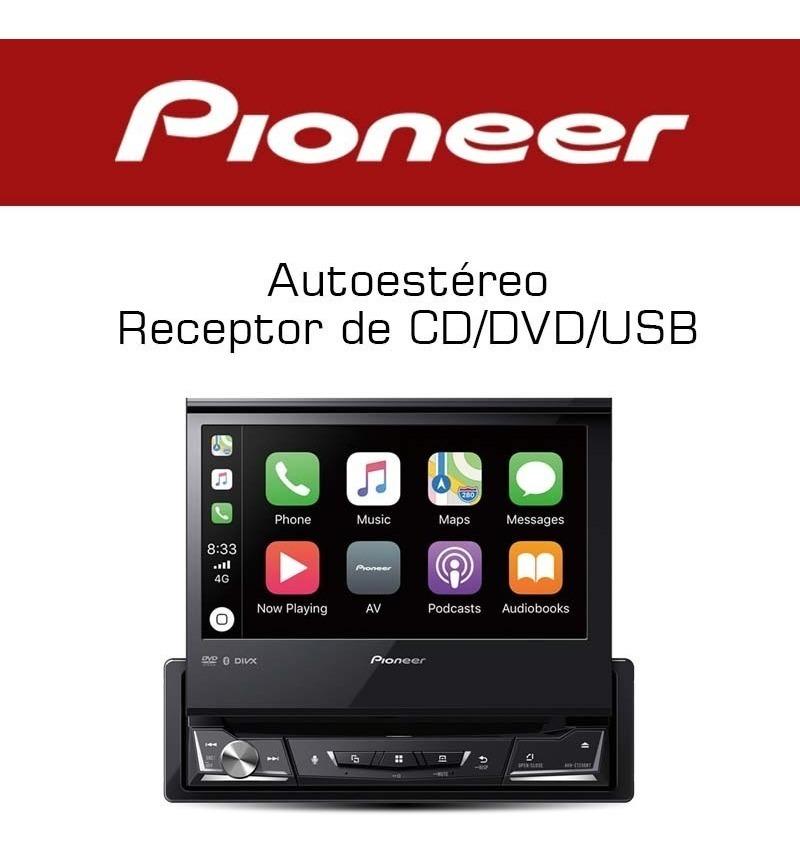 Autoestereo Pioneer Avh-z7250bt Carplay Android Auto Waze