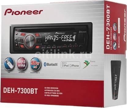 autoestereo pioneer deh-7300bt no subastas remate original