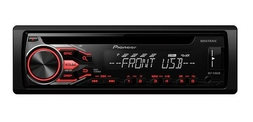 autoestereo pioneer dxt-x186ub combo 2 parlantes selectogar