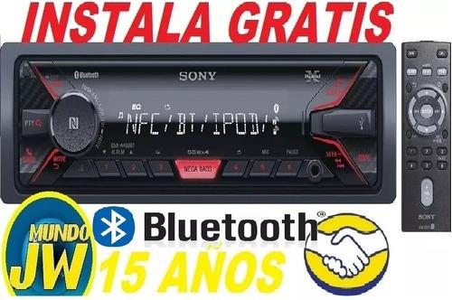 autoestéreo sony a400 bluetooth - usb - aux 3.5. instalado