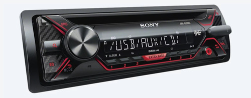 autoestereo sony cdx-g1200u cd mp3 usb aux android iphone