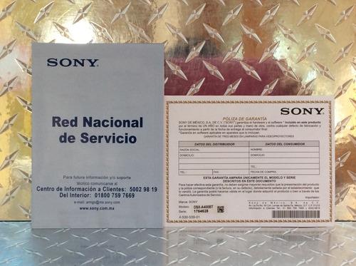 autoestéreo sony dsx-a410bt bluetooth usb + bocina 6.5 y 6x9