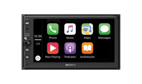 autoestéreo sony xav-ax100 con carplay y android auto