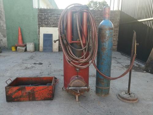 autogena con tubo y power