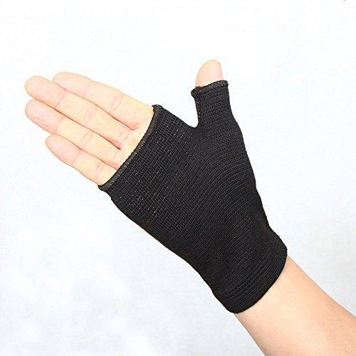 autohome la aptitud de medio dedo guantes deportivos de pol