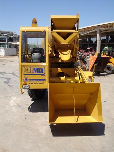 autohormigonera carmix 2.5 tt motorman m4q