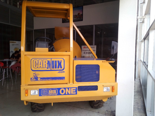 autohormigonera carmix one motorman m4q