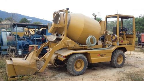 autohormigonera dieci l3500  mezcladora capacidad 2.5 m3