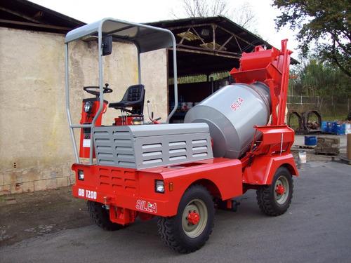 autohormigonera mixer hormigonero, hormigón en obra