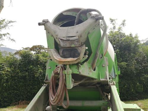 autohormigonera usada merlo dbm 3500  mixer capacidad 3.5m3
