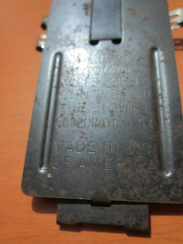 automatic contactor lionel