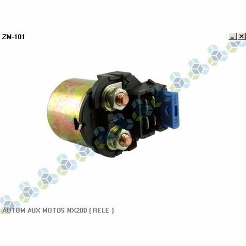 automatico auxiliar partida 12v honda nx 200 -  frete grátis