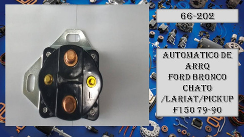 automatico ford bronco chato lariat pickup f150 arranque 202