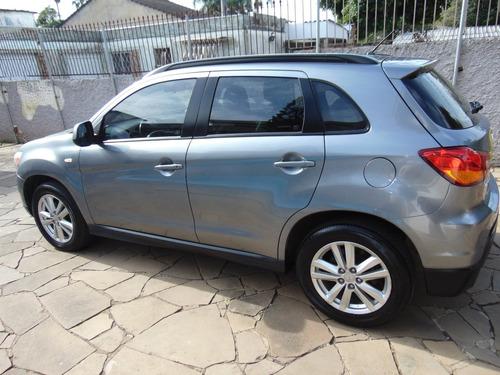 automático - mitsubishi asx 2.0 160cv gasolina 4x2 ano 2012