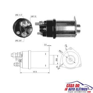 automatico motor partida 37mt-partida sistema delco remy 12