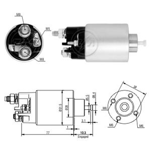 automatico motor partida clio logan-part kangoo-apartir-2007