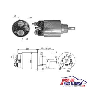 automatico motor partida diesel sistema b. boxer 1997 a 2001