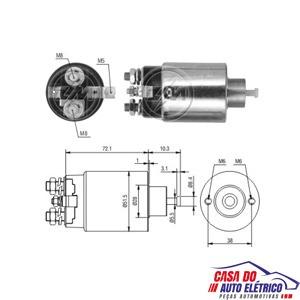 automatico motor partida dodge monaco-partida sistema mitsu
