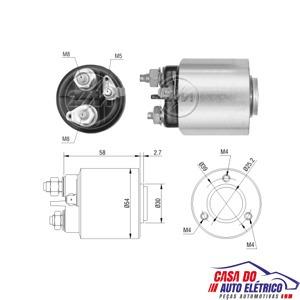automatico motor partida ducato partner xsara- 306-1996-1999
