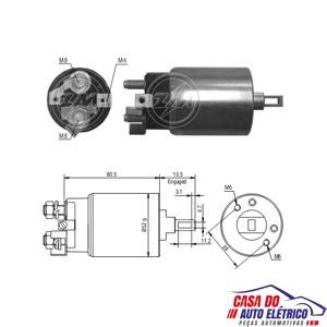 automatico motor partida isuzu diesel-partida sistema hitac