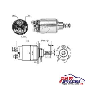 automatico motor partida jf-partida sistema bosch 12v