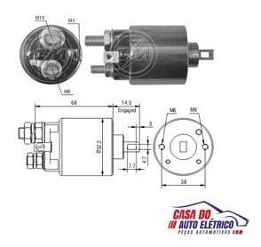 automatico motor partida silverado 6cc gas-partida sistema