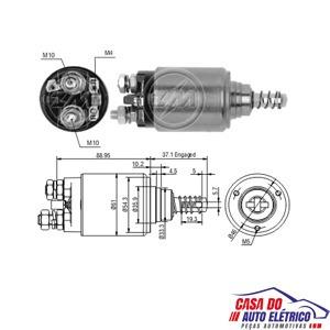 automatico motor partida sistema bos. scania 113 1992 a 1998