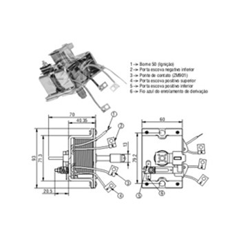 automatico motor partida sistema bosch 1935 1986 a 1991