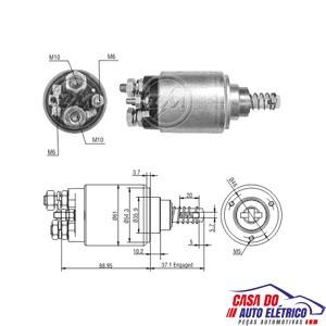 automatico motor partida sistema bosch bicudo 2004 1995