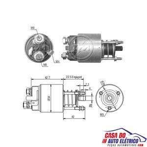 automatico motor partida sistema magneti . astra 2002 a 2012