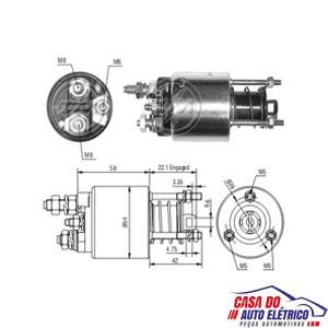 automatico motor partida sistema magneti . palio 1996 a 2004