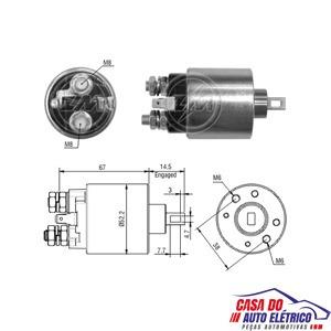 automatico motor partida sistema pr. renault r19 1995 a 1999