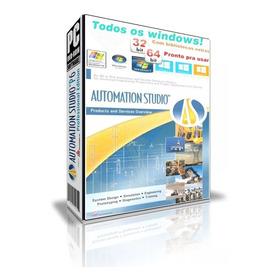Automation Studio 6.0 - 32 E 64 Bits Roda Em Todos Windows