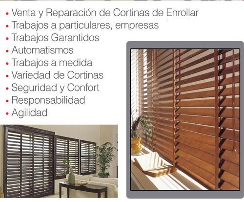 automatización cortinas de enrollar, venta de motores e inst