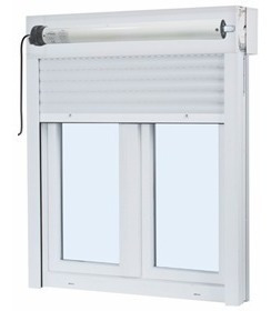 automatización cortinas persianas de enrollar motor tubular