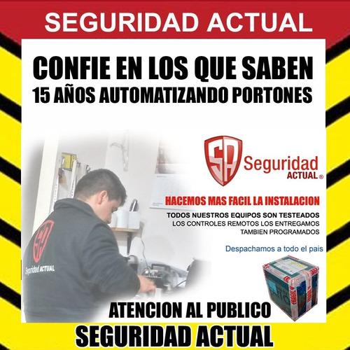 automatizacion de porton corredizo ppa rio turbo 400 kgs
