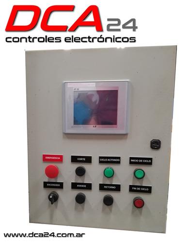 automatizacion industrial - tableros - controles - plc - hmi