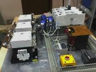 automatización,control , supervisor de volt. transferencias