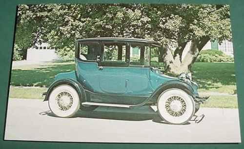automobilia autos coches postal electric brougham 1926 burto