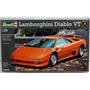Modelo De Coche - Revell Rv160 1:24 Lamborghini Diablo Vt De