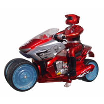 Moto A Control Remoto Con Luces Y Sonido Marca Genio 360º