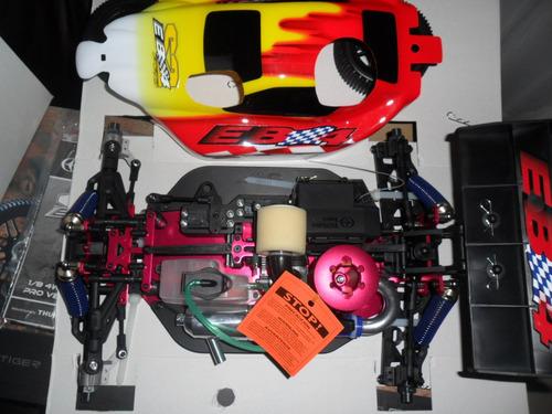 automodelo combustao profissional motor 21 buggy 1/8 nitro