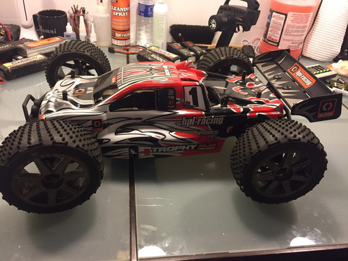 automodelo hpi trophy 4.6 1/8 truggy nitro 2.4ghz rtr 107014