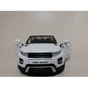 02e56ed62e0ba Miniatura Land Rover Range Rover Evoque Branca 1 24 Welly no Mercado Livre  Brasil