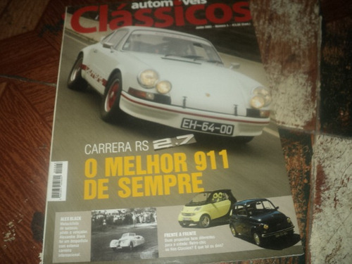 automóveis clássicos junho 2003 n4 revista