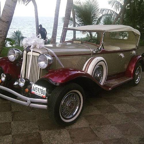 automóvil antiguo para bodas quinceaños y eventos especiales