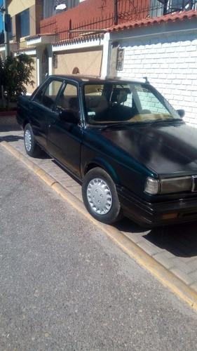 automovil nissan sunny sedan año 1987